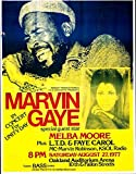 #4: Marvin Gaye Concert reprint mini poster w/ FREE Gift & FREE US SHIPPING