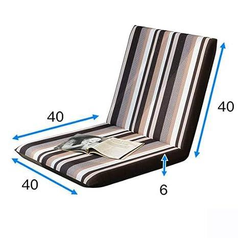BEIGOO Cojines para Silla, Tatami Plegable Cojín para el Suelo algodón Cojín cómodo sofá casa Oficina para Interior y ...