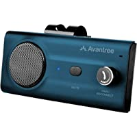 Avantree CK11 Bluetooth 5.0 Hands Free Cell Phone Car Kit, Loud Speakerphone, Siri Google Assistant, Motion AUTO ON…