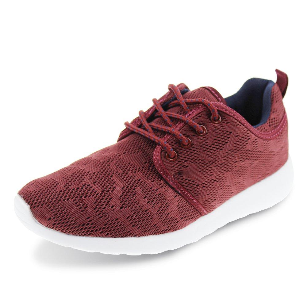 Hawkwell Women's Light Weight Sport Fashion Sneaker B01KQ465PS 4 B(M) US 1576-burgundy