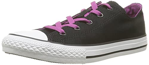 Converse Ct unisex Dt Anim Ox Sneaker unisex Ct bambino Nero Noir Noir/Violet 30 427958