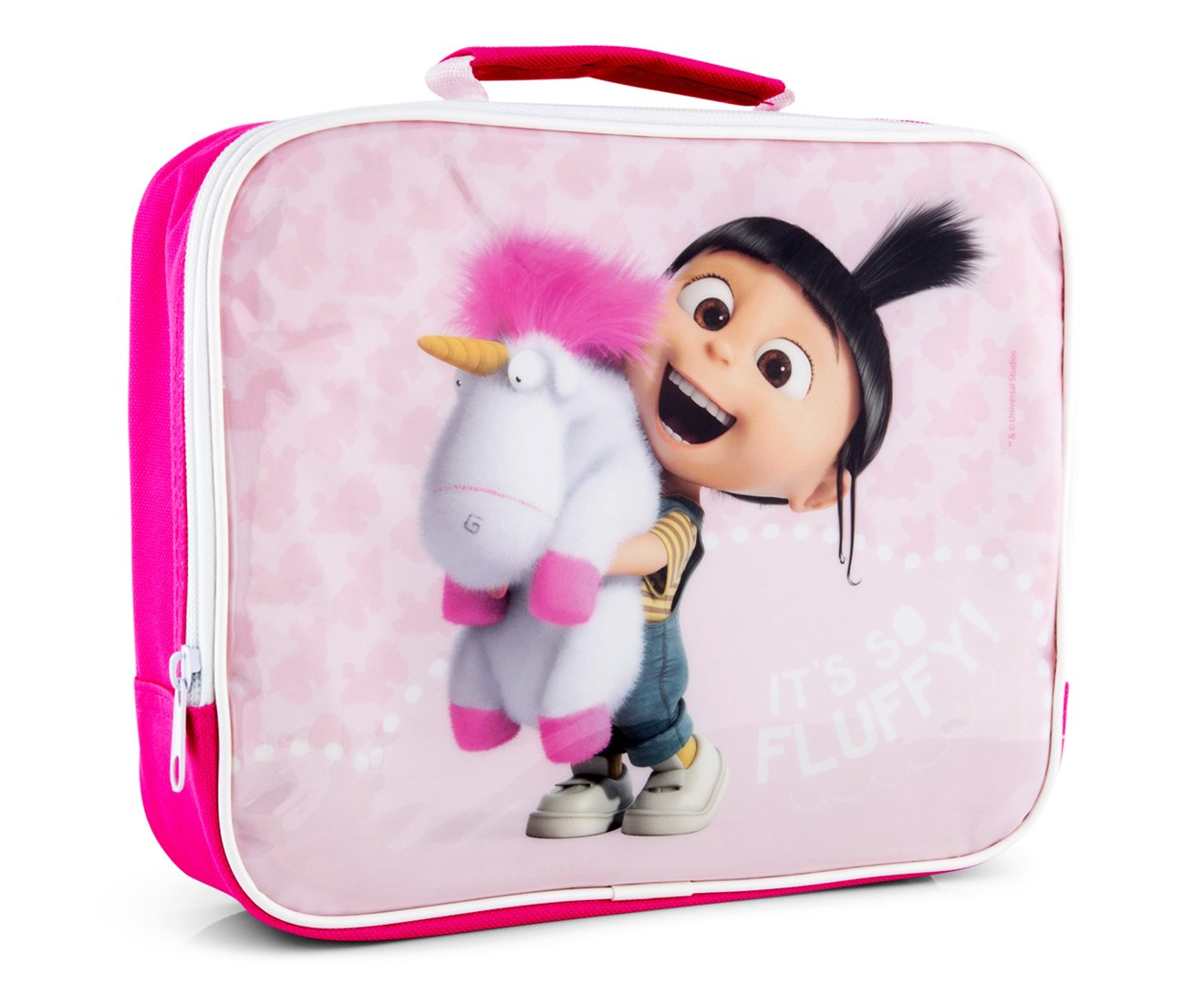 Boyz Toys ST459 Insulated Lunch Bag - Minions Fluffy Unicorn, Pink Boys Toys 07053