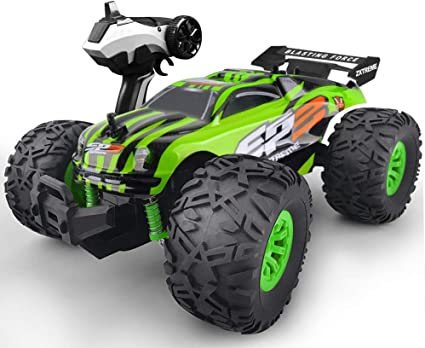 Amazon Com Gizmovine Rc Car Toys Remote Control Monster Truck With 2 4ghz Radio Controlled Vehicle Off Road Remote Control Car For Kids Toys Games