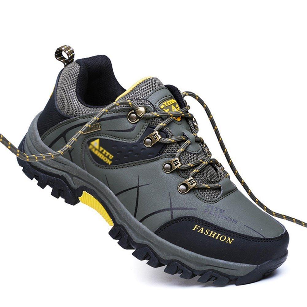 be41cda69835d Yra Hombre Zapatos De Montaña Con Tacón Alto Zapatos De Running De Cross-country  Zapatos De Montaña Con Cordones De Montaña Caza De Senderismo Calzado ...