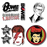 david bowie decal - David Bowie Sticker Set Pack Decal for Car Window, Bumper, Laptop, Skateboard, Wall, ETC. Set-010