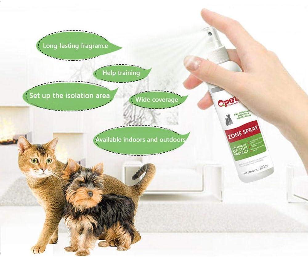 Spray anticorrosión para perros, Kobwa, spray disuasorio para mascotas – libre de alcohol, 100% no tóxico e inofensivo. Solución de entrenamiento natural para evitar que el perro o gato arañe los muebles