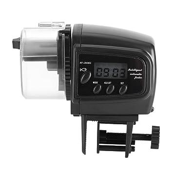 Asixx Alimentador Automático de Peces, Dispensador Automático de Alimento para Peces, con Mini Pantalla, para Alimentar A Los Peces: Amazon.es: Productos ...