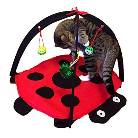 Jaula de Juguete Plegable Portátil para Mascotas, Perro, Gato, Conejo, cobaya,