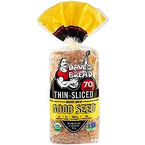 Dave's Killer Bread, Good Seed Killer Thin-sliced 70 Calories, 20.5 oz