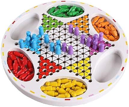 YFDD Damas-Dos en uno Juego de Mesa Juegos de Tablero de Damas Chinas aijia (Color : White , Size : Free Size) : Amazon.es: Juguetes y juegos