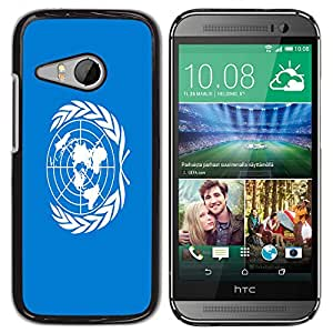 - Flag - - Fashion Dream Catcher Design Hard Plastic Protective Case Cover FOR HTC ONE MINI 2 / M8 MINI Retro Candy