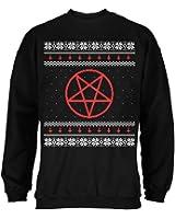 Slayer Pentagram & Skulls Adult Christmas Sweater at Amazon Men's ...