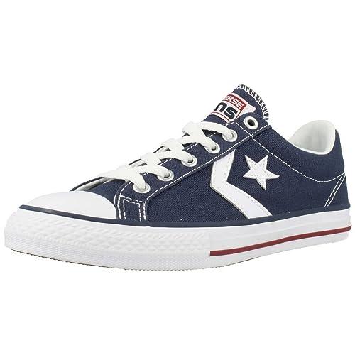 Converse Lifestyle Star Player Ev Ox, Zapatillas Unisex niño, Azul (Navy/White 410), 37.5 EU: Amazon.es: Zapatos y complementos