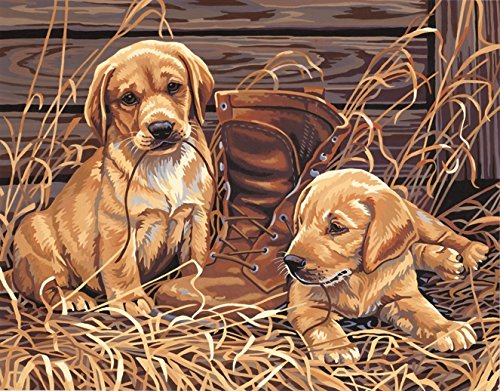 Dimensions Paintworks Puppies' Plaything