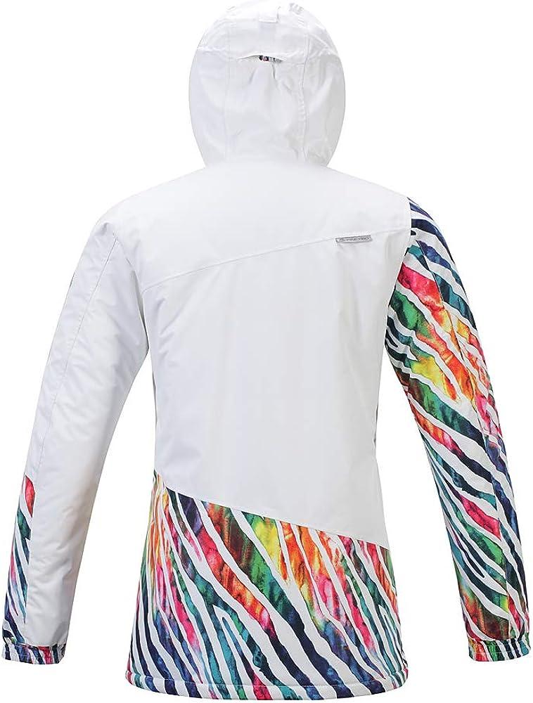 ALPINE PRO Women/'s Ski Jacket Waterproof Warm Snow Winter Windproof Windbreaker Coat