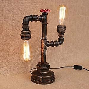 Amazon.com: Creative Vintage Table Lamp German Style Loft ...