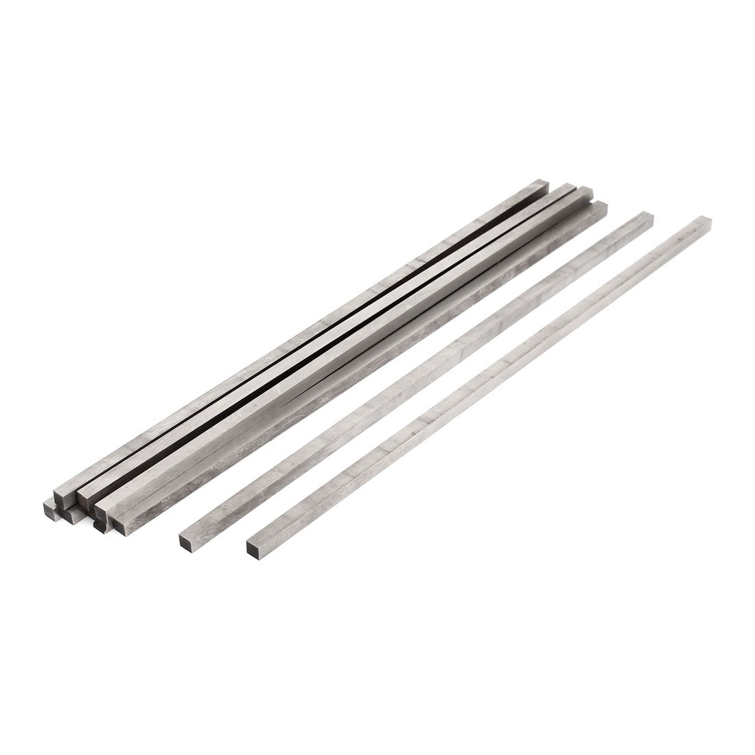 4mm x 10mm x 200mm Silver Tone High Speed Steel Milling Lathe HSS Tool Bit