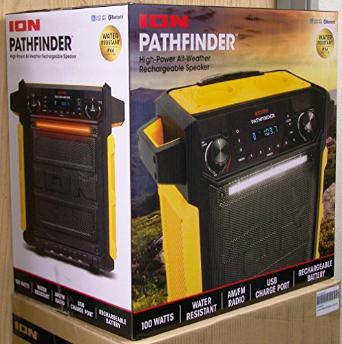 pathfinder rugged bluetooth portable speaker