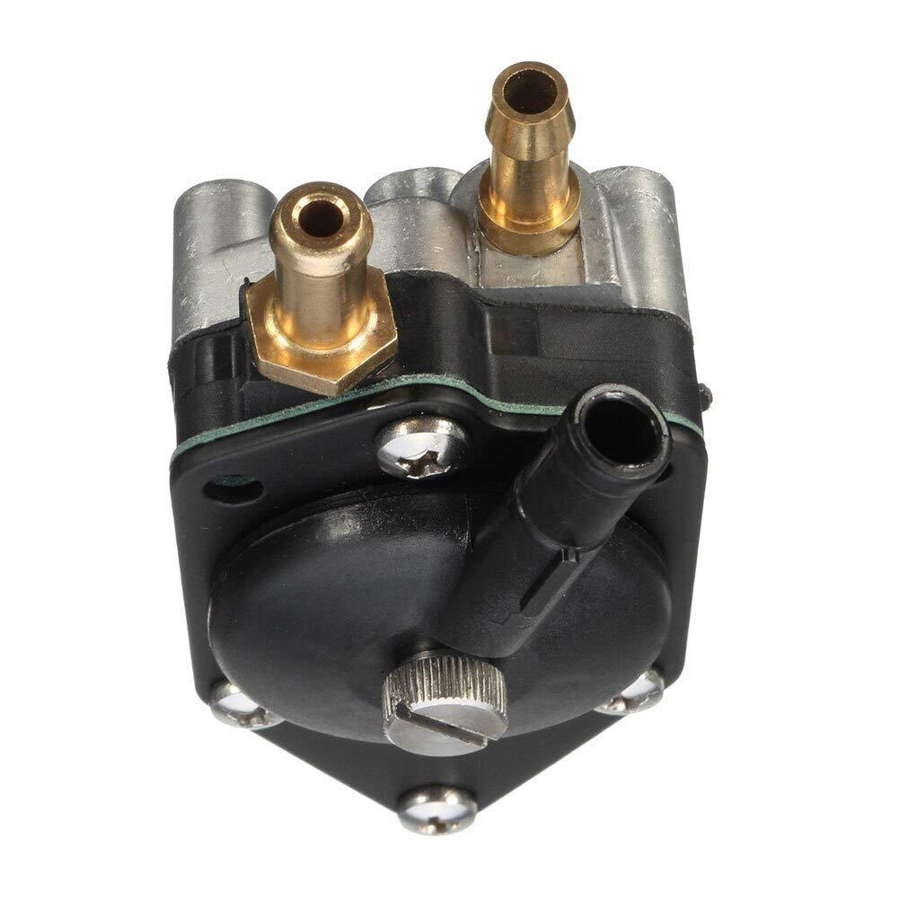 Yomoly 438559 Outboard Fuel Pump Compatible with Johnson//Evinrude 140-155-175-185-200-235 HP Crosflow Engines Replace 385784 395712 398385 433390