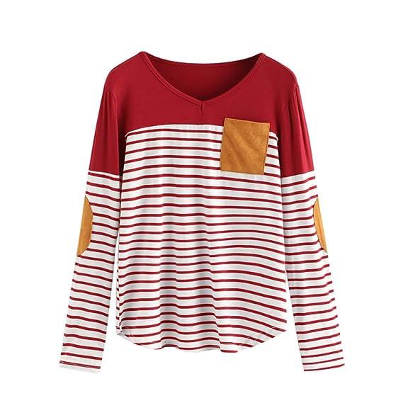 ALIKEEY-Top Shirt Camisas Mujer Manga Larga Invierno Camisetas Mujer Verano Blusa Mujer Elegante Camisetas