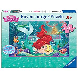 Ravensburger 05468 Hugging Arielle 24 Piece Jigsaw Puzzle for Kids – Every Piece is Unique, Pieces Fit Together…