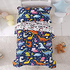 4 Piece Toddler Bedding Set 11