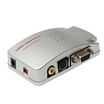 Vga To Rca Converter Box Or Adapter Cable Amazon.com VGA to TV  sc 1 st  efcaviation.com-Wiring and Diagram Image Collection & Vga To Rca Converter Box Or Adapter Cable - efcaviation.com Aboutintivar.Com