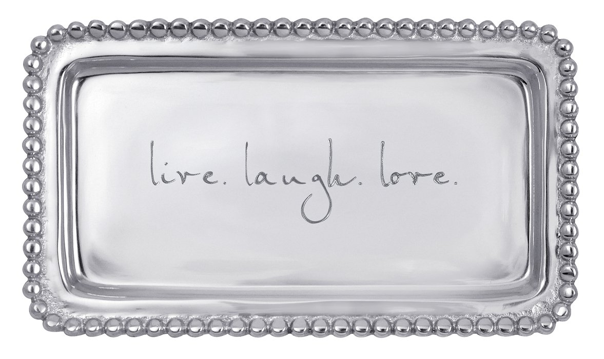 Mariposa ''live. laugh. love'' Tray