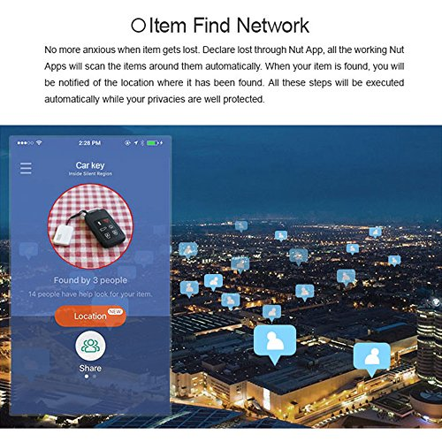 Decdeal BT Anti-lost Tracker, GPS Smart Tag Alarm Locator for Kids, Phone, Key, Wallet, Gps Tracker Device for iOS/Android by Decdeal (Image #4)