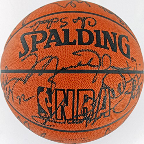 Scottie-Pippen-Signed-Ball-1995-96-Team-16-Front-Office-Jordan-Jackson-JSA-Certified-Autographed-Basketballs