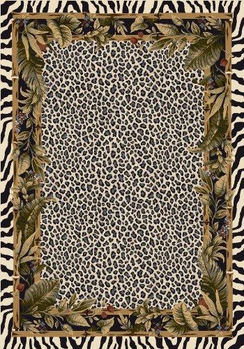 Milliken Signature Collection Jungle Safari Rectangle Area Rug, 3'10