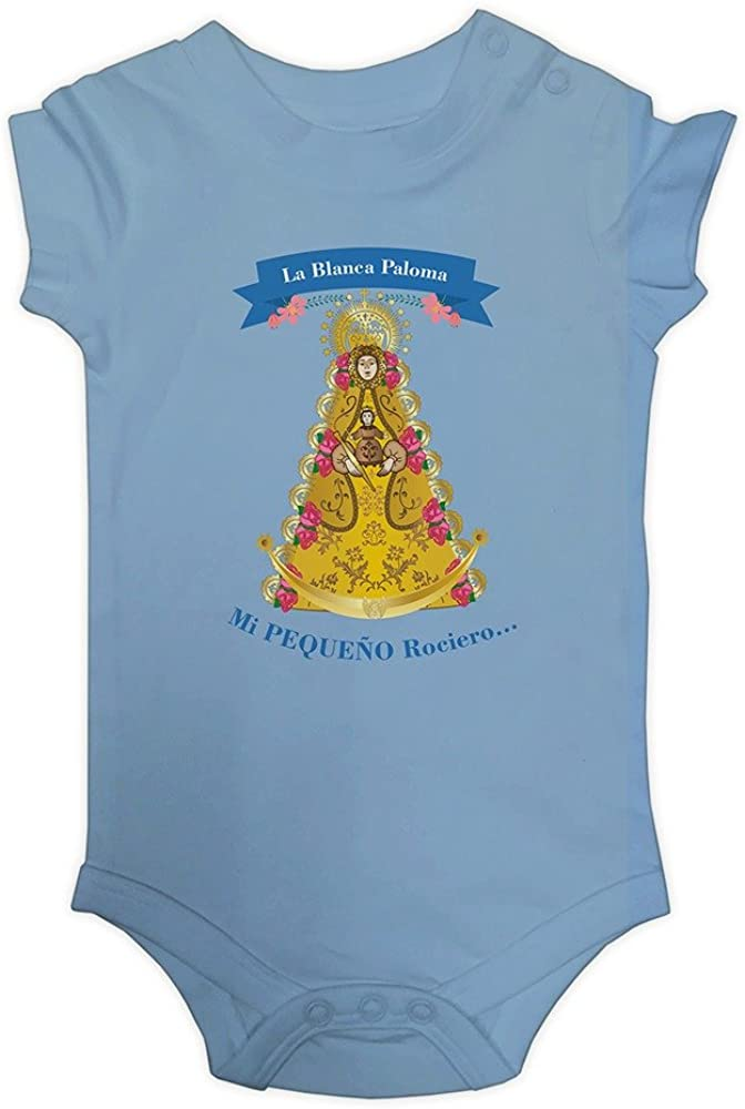 ALBERO - EDIPUBLI Body Rociero para bebé 3 a 24 Meses algodón El Rocio España Almonte (18 Meses): Amazon.es: Ropa y accesorios