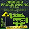 Android: Programming in a Day