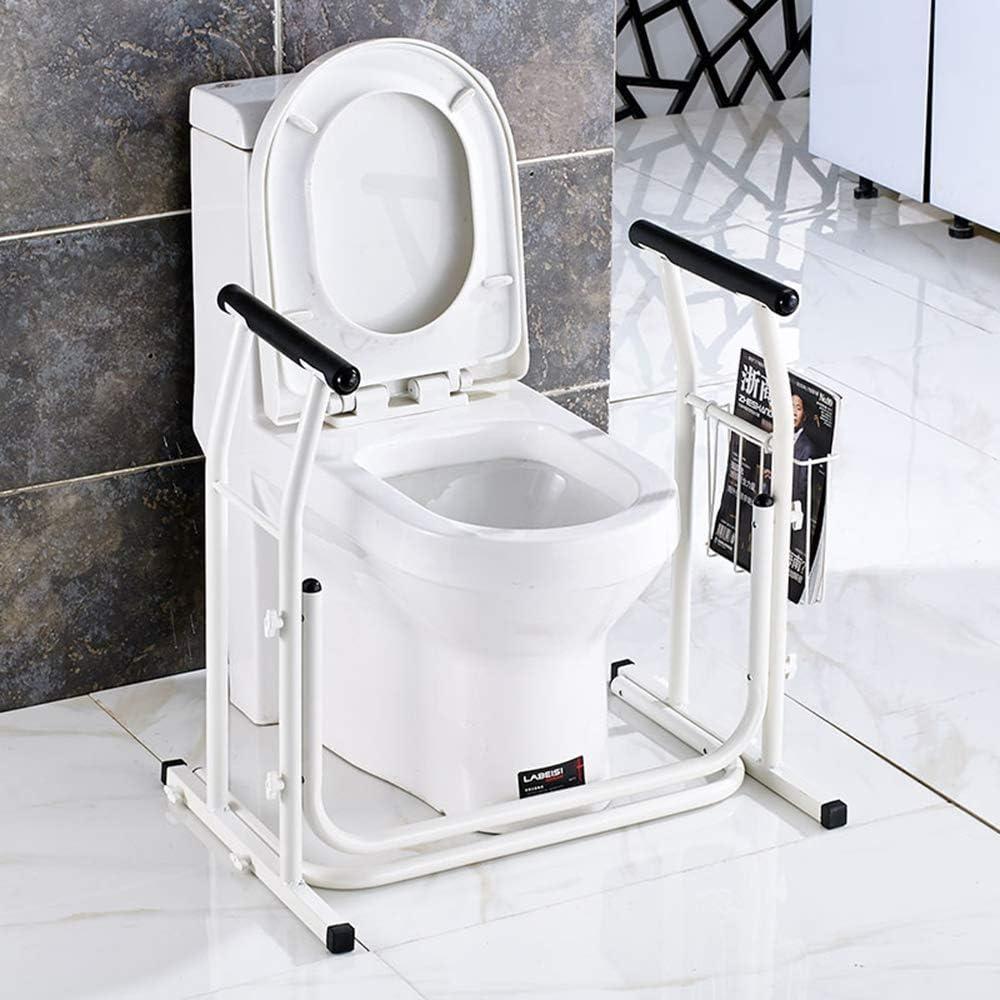 MOMAKQ 介護用 手摺り トイレ用 手すり 椅子 立ち上がり 補助 軽量 介助 組み立て簡単 便座 サポート 転倒防止 敬老の日 プレゼント 介護用品 持ち運び便利 福祉用具 コンパクト お年寄り 老人用 浴室