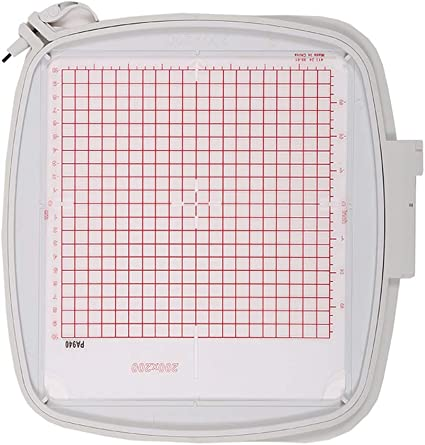 Square Embroidery Quilter/'s Hoop 8/'/'x8/'/' 200x200mm For Pfaff Viking Hiclass