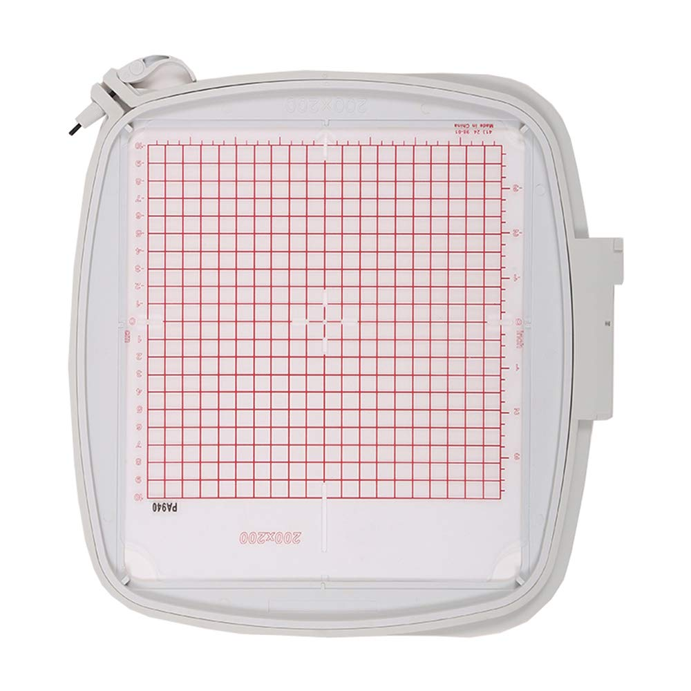 #820940-096 for Pfaff Creative 2.0//4.0//Sensation//Vision//Performance YICBOR Square Quilters Hoop 8x8 200x200mm