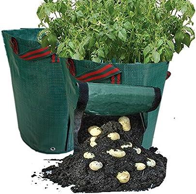 Jardín Maceta para plantar patatas de bolsas 2pcs, creciente ...