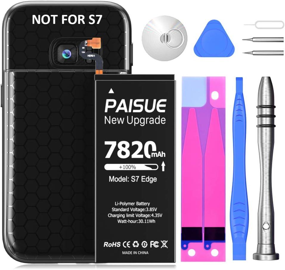Bateria Para Galaxy S7 Edge 7820mAh LCLEBM + kit y funda TPU