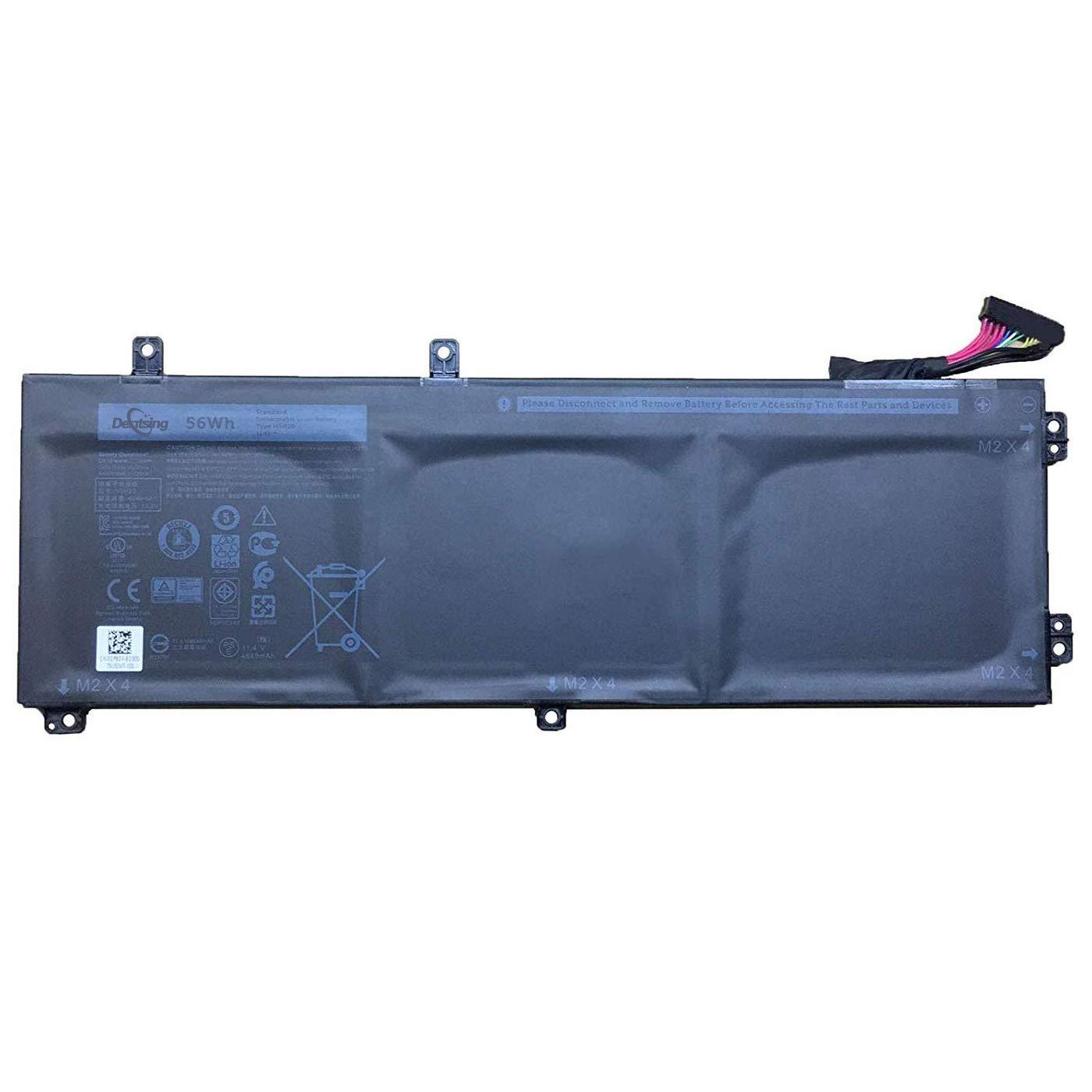 Bateria H5H20 Dell XPS 15 9560 Precision 5520 56WHR 62MJV M7