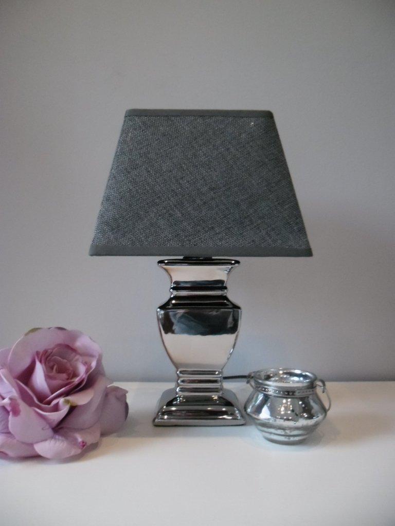 tischleuchte silber. Black Bedroom Furniture Sets. Home Design Ideas