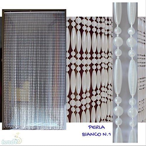 Cortina de PVC Modelo Perla - Medidas estándar (100X220 / 120X230 ...