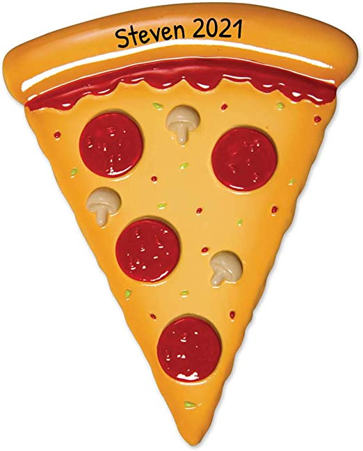 Dominos Christmas Hours 2020 Amazon.com: Personalized Pizza Christmas Tree Ornament 2020