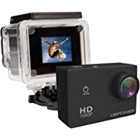 DBPower 1080p Action Camera w/2 Batteries