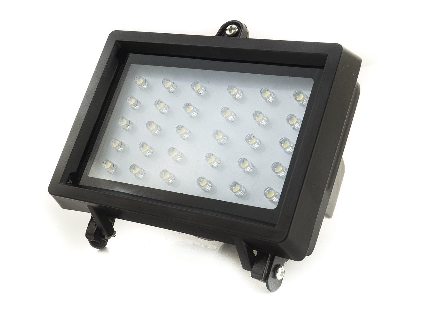Proyector de LED solar. Kit con Sensor crepuscular 98064 30 LED ...