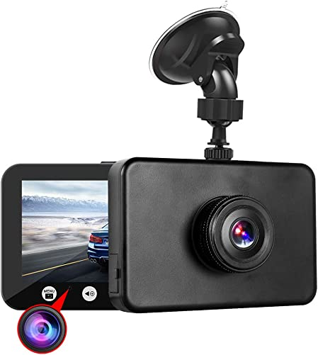 Vsysto Dash Cam WiFi 1080P FHD DVR Car Driving Recorder 4.5 Inch Front and Inside Dual Lens Camera 310 Wide Angle, G-Sensor, Loop Recording M4.5