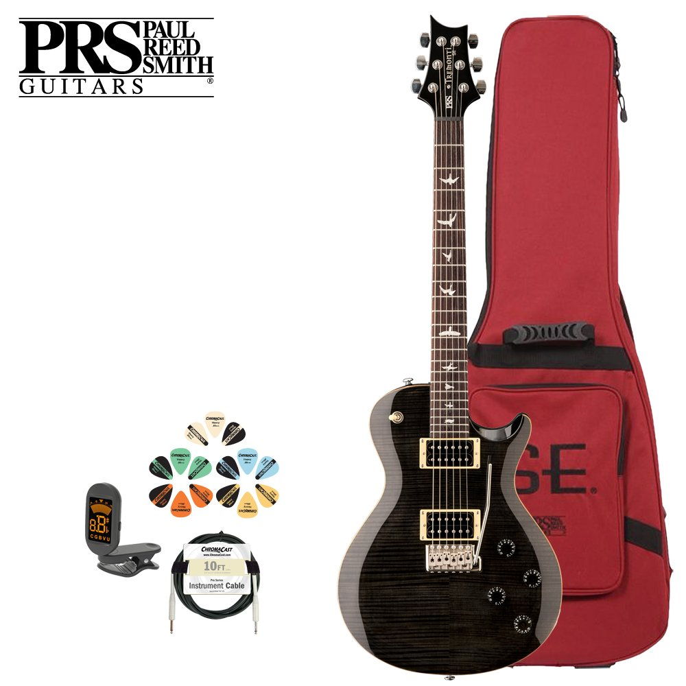 paul reed smith guitars trcgb kit 3 se trcgb mark tremonti custompaul reed smith guitars trcgb kit 3 se trcgb mark tremonti custom with tremelo electric guitar with tuner, cable, picks and gig bag amazon ca musical