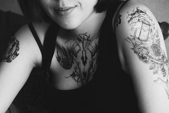 Novoskins artista del tatuaje para tatuaje temporal a mano ...