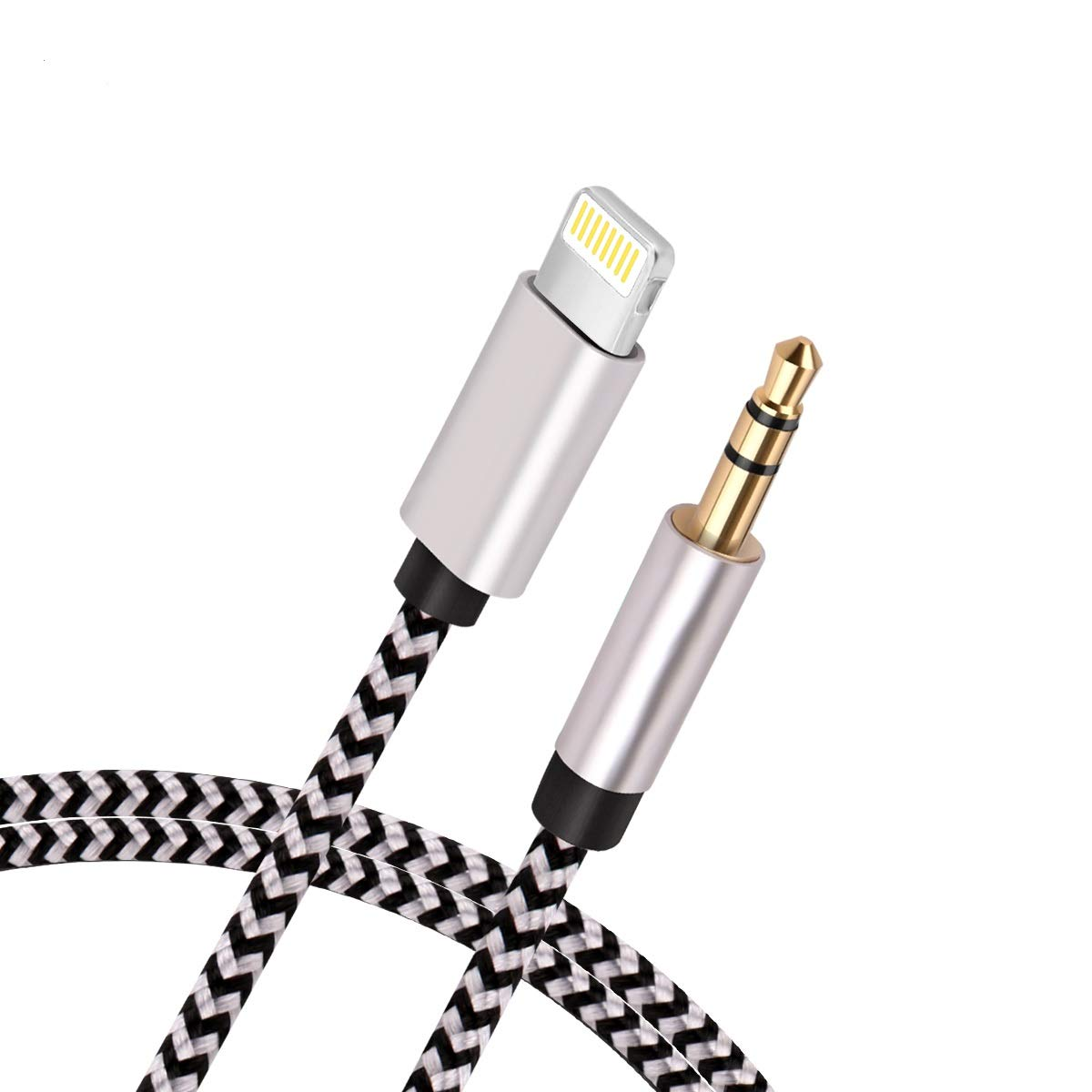 size 40 34ef8 d1ad5 Details about [New Version]Aux Cord for iPhone, Hzmirzk 3.5mm Aux Cable  iPhone 7/X/8/8...