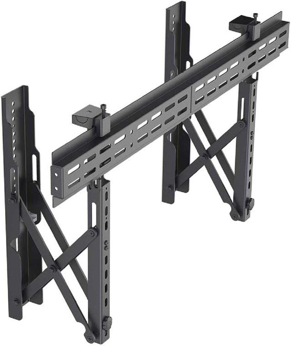 Monoprice TV Wall Mount Bracket Specialty Menu Board, with Push-to-Pop-Out, Max Weight 99lbs, Extension Range of 2.4in to 8in, VESA Patterns Up to 800×400 Security Brackets – Entegrade Series