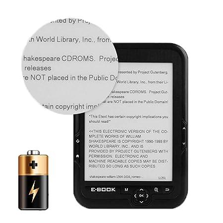 16gb Ebook Lector, Electrónica HD Táctil Pantalla, Portátil ...